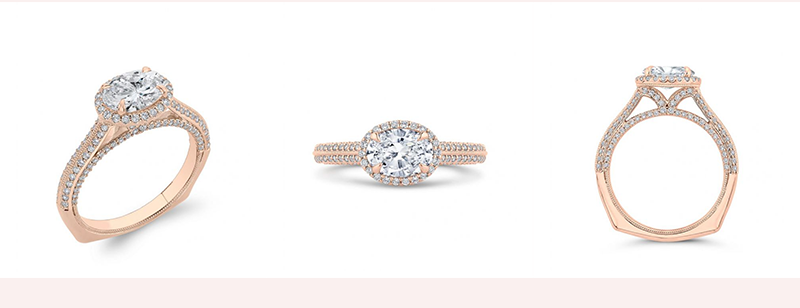 Drago Diamond Engagement Ring