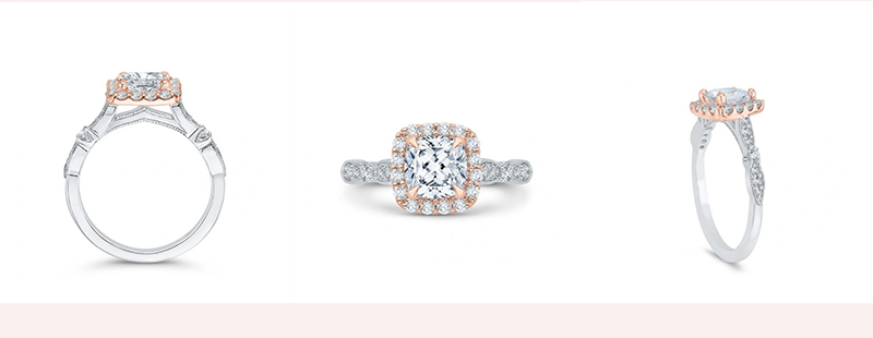 Memoria Diamond Engagement Ring