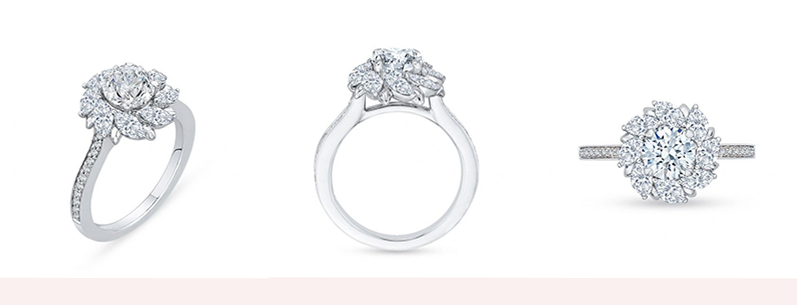 Radici Diamond Engagement Ring