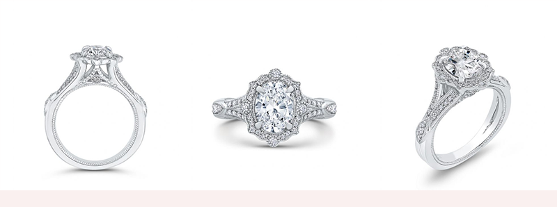 Righello Diamond Engagement Ring